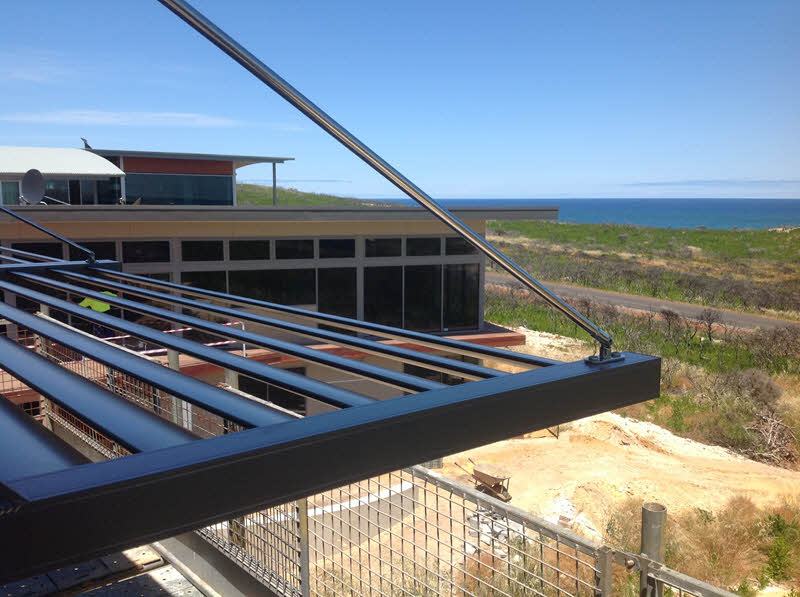 Solar Shade Awning Naturaliste Balustrades